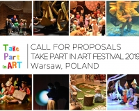 CALL FOR PROPOSALS - TAKE PART IN ART 2019
